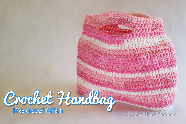 My Sweet Crochet Handbag Pattern #FreePattern