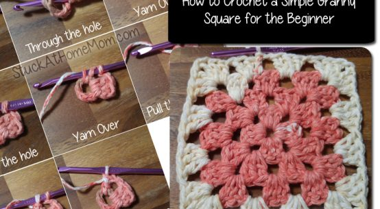 How to Crochet a Simple Granny Square for the Beginner