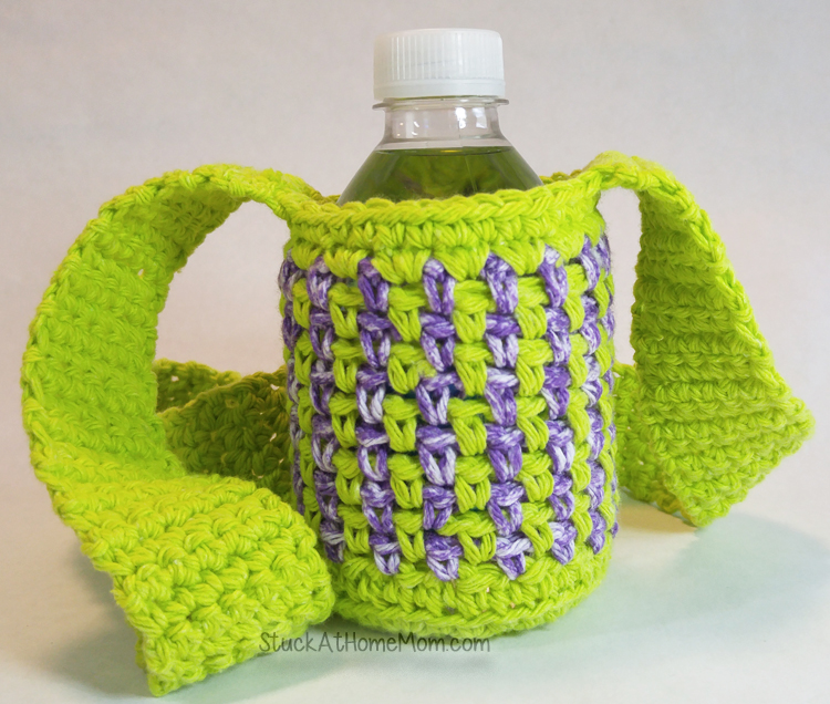 Water Bottle Carrier Crochet Pattern