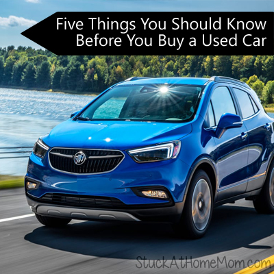 Five Things You Should Know Before You Buy a Used Car