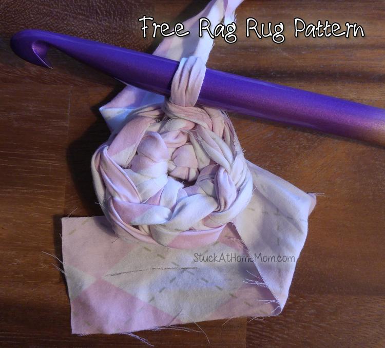 Free Rag Rug Pattern