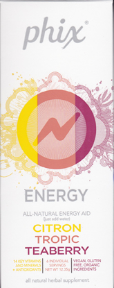 Phix Energy Drink Mix Review and Giveaway!