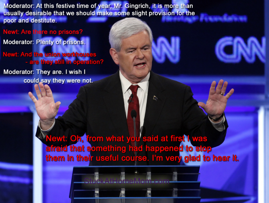 Having a Little Christmas Fun at the Expense of Newt Gingrich
