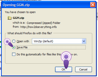 How to unzip a folder and remove the files.