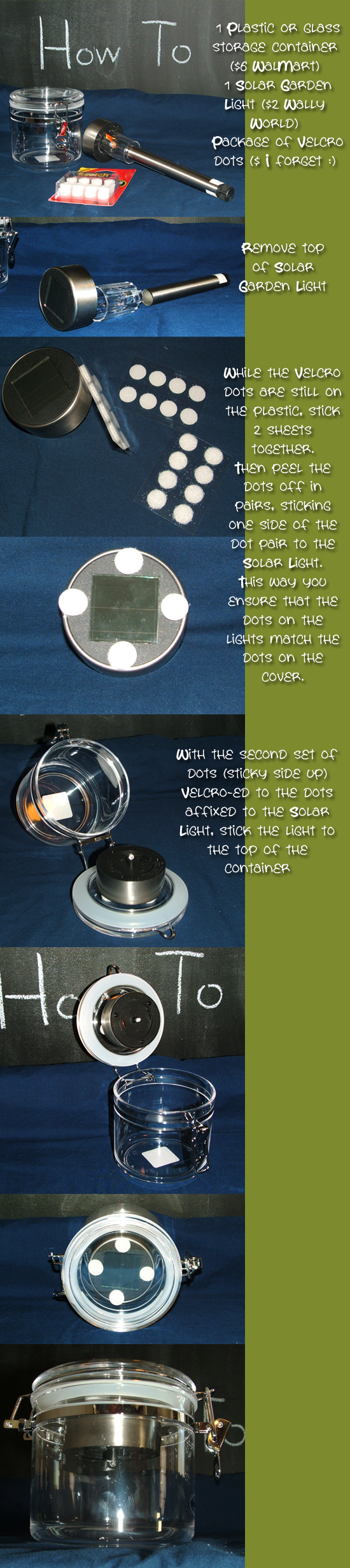 Decorative Solar Lighting (for porch, nightlight, party and gifts)