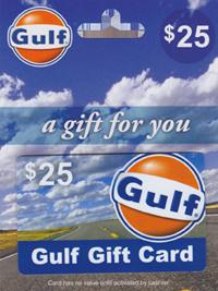 Gulf Gas Card Giveaway