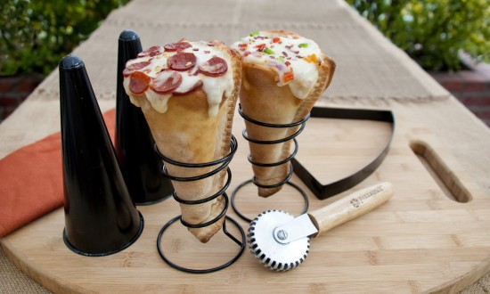 PizzacraftPC0304GrilledPizzaConeSet6Piece