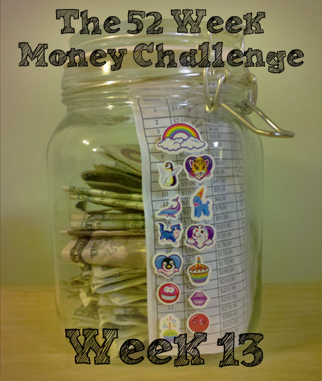 MoneyChallengeWeek13