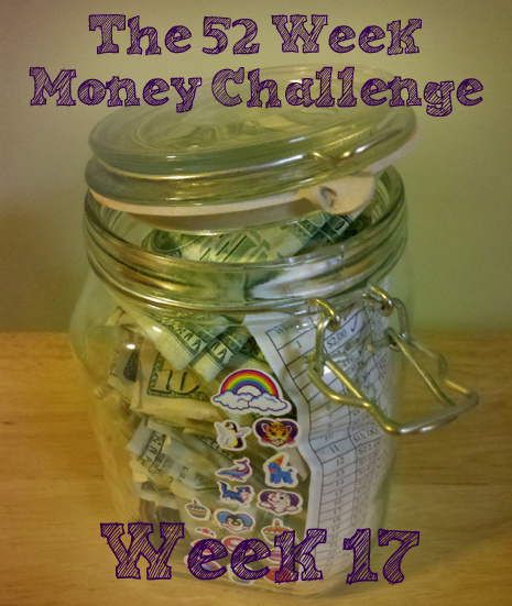 The 52 Week Money Challenge – week 17!