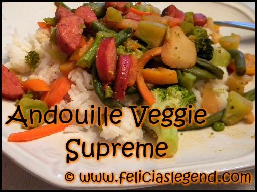 Andouille Veggie Recipe