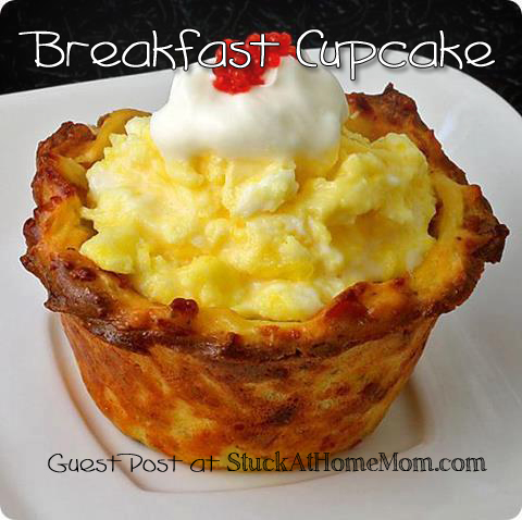 Breakfast Cupcake Recipe #breakfast #cupcake #recipe
