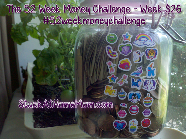 52 week money challenge week 26 #52weekchallenge