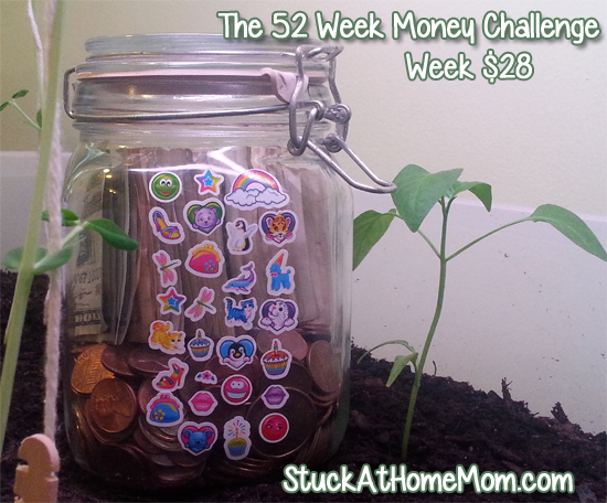 The 52 Week Money Challenge – Week 28 #52weekmoneychallenge