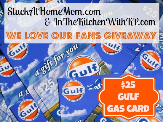 Fans, Friends & Followers $25 Gas Card Giveaway