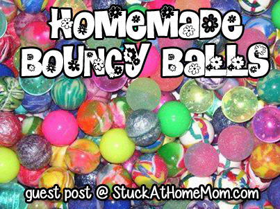 Homemade Bouncy Balls #recipe