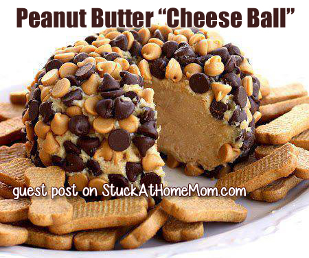 Peanut Butter Cheese Ball Recipe
