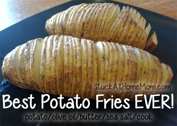 Best Baked Potato Fries EVER! #recipe