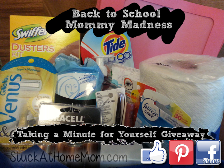 Back to School Mommy Madness – Taking a Minute for Yourself P&G Gift Pack Giveaway