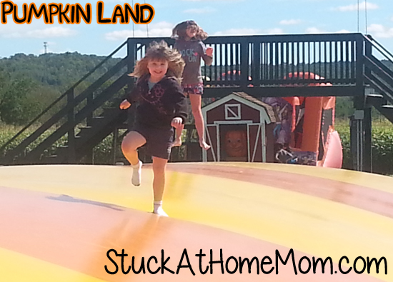 Pumpkin Land Giant Jumping Pillow