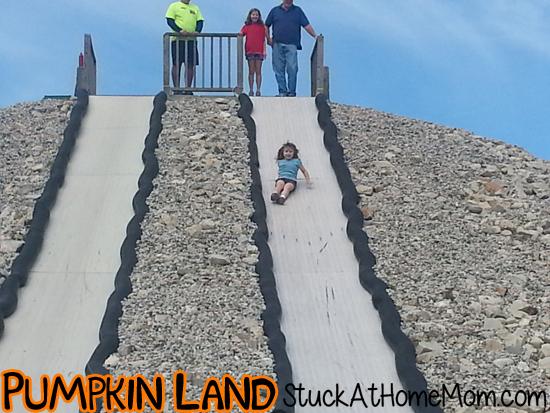 Pumpkin Land Frankenslide
