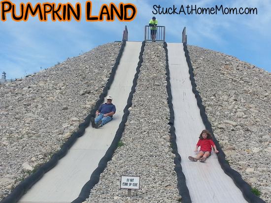 Pumpkin Land Slide