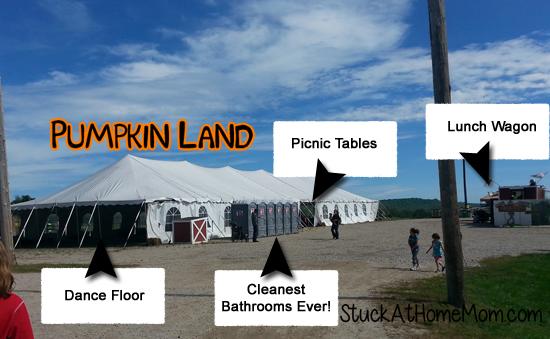 Pumpkin Land Snack Area