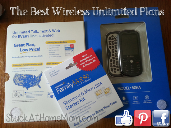 Cheap Wireless Plan – Walmart Family Mobile is the Best in Unlimited Wireless!