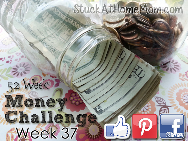 The Money Challenge Week 37 With Printable Chart – Save $1,378.00