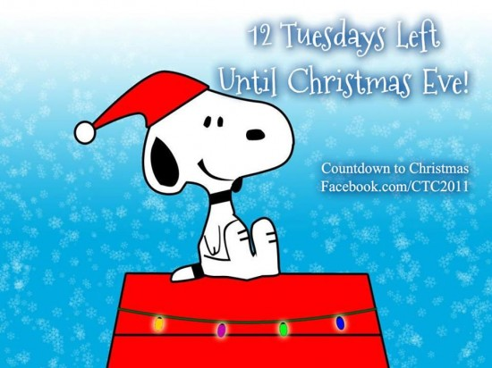 12 Tuesdays 'til Christmas