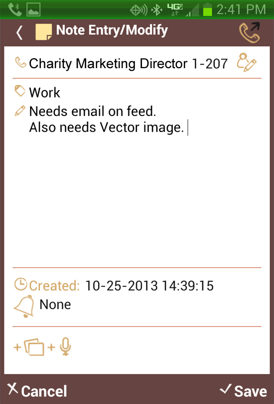 TalkNotes Plus App for Android
