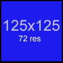 125x125 ad space