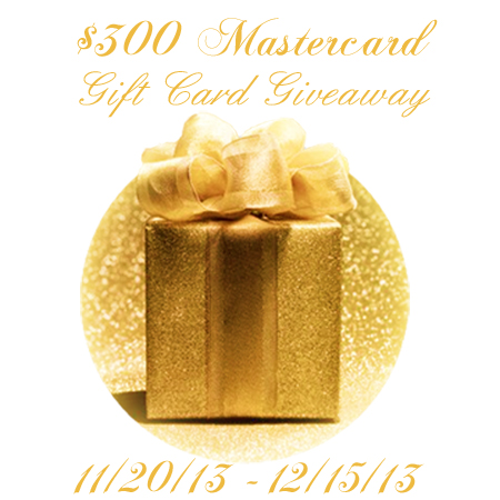 $300 Mastercard Gift Card Giveaway