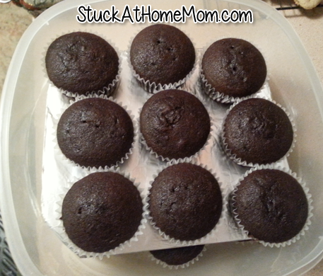 How to Stack Cupcakes in a Container