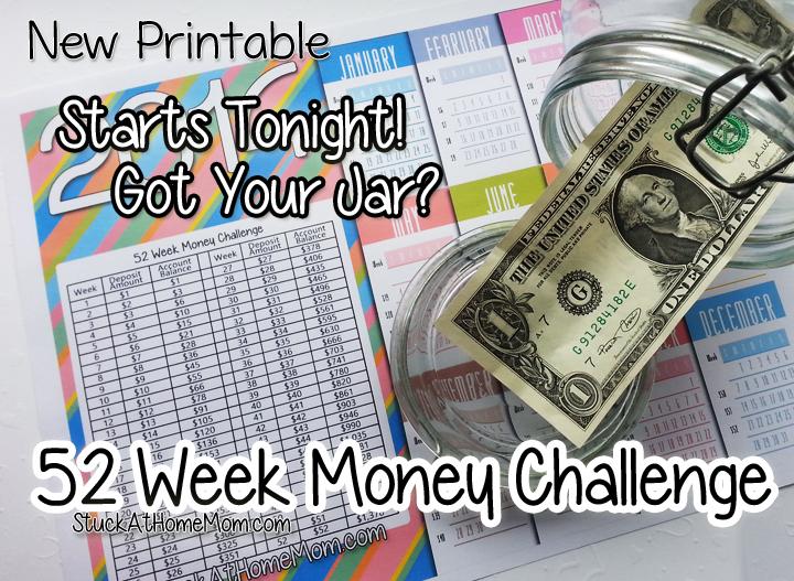 52 Week Money Challenge Starts Tonight! – You Game? #52weekmoneychallenge