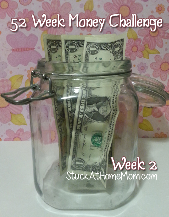 52 Week Money Challenge Week 2 #52weekmoneychallenge