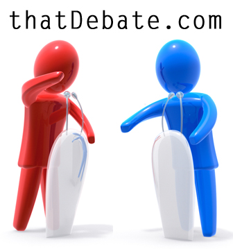 Debate on thatDebate.com