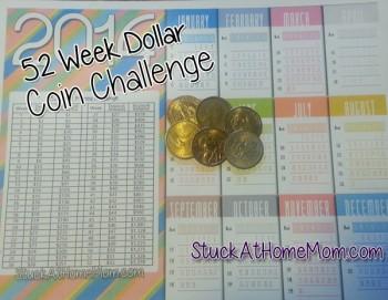 52 Week Dollar Coin Challenge Week 6