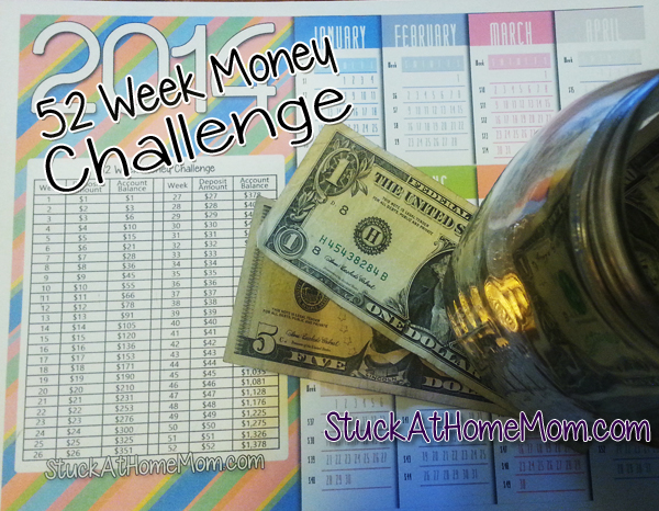 52 Week Money Challenge Week 6