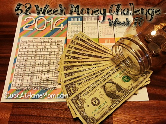 52 Week Money Challenge Week 10 #52weekmoneychallenge
