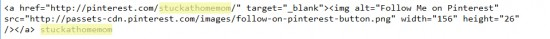 Pinterest Giveaway Code