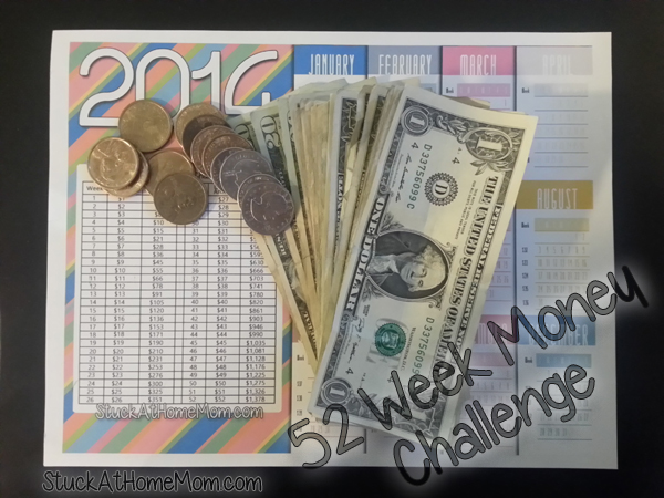 52 Week Money Challenge Week 17 – Free Printable