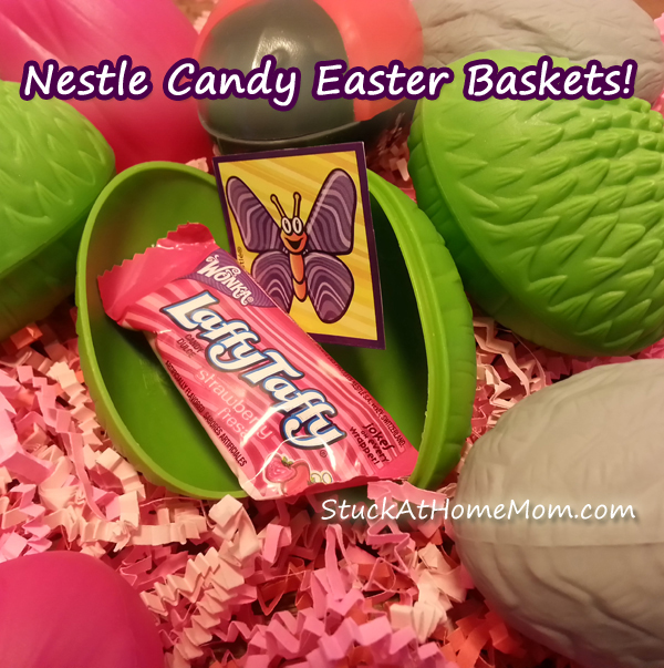 Nestle Candy Easter Baskets