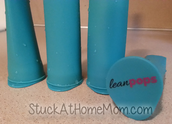 LeanPops Silicone Popsicle Molds #LeanPops