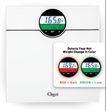 Ozeri WeightMaster 400 lbs Digital Bath Scale #Ozeri