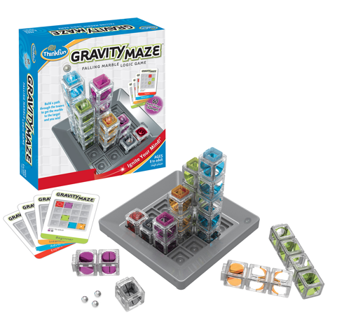 Gravity Maze by Thinkfun Review #thinkfun