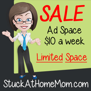 Ad Space at $10 a Week SALE Limited