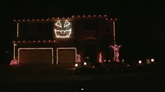 Amazing Halloween Light Shows [Videos]
