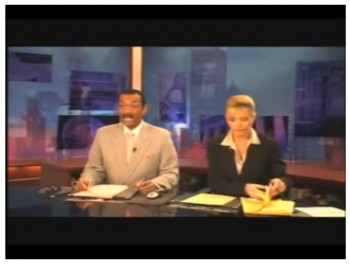 What News Anchors Do During Commercial Breaks