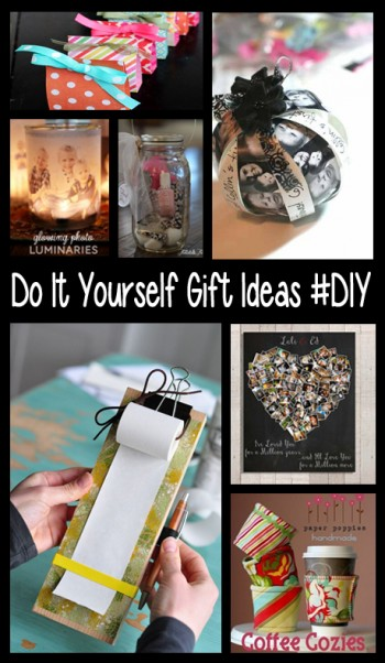 Do It Yourself Gift Ideas #DIY
