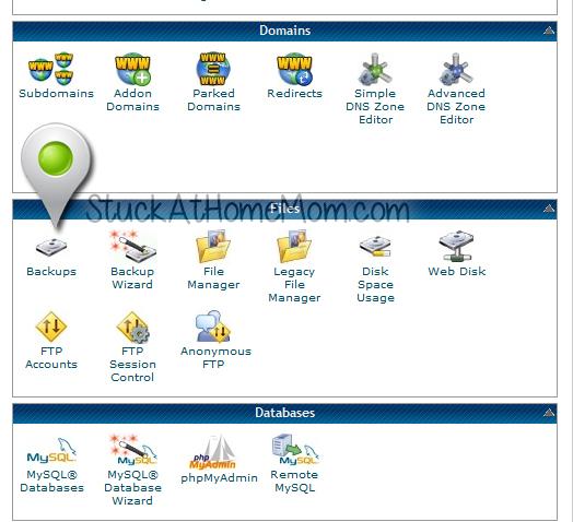 Site Wide Backup Protocol